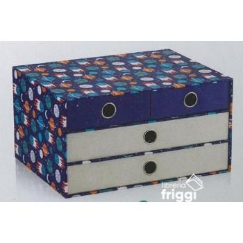 SEVEN. 4 DRAWER BOX LINEA...