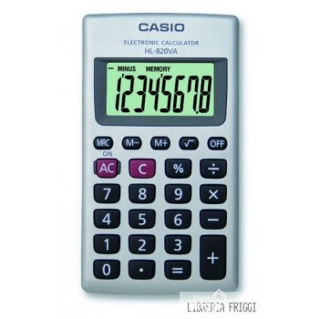 CALCOLATRICE CASIO HL-820VA
