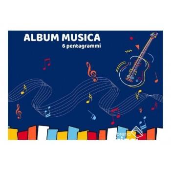 ALBUM MUSICA 16FOGLI 17X24...